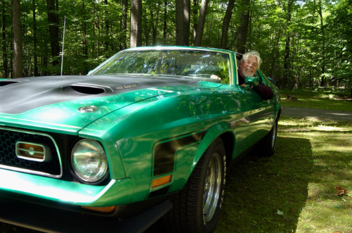 Bob Seger Mach 1 Mustang