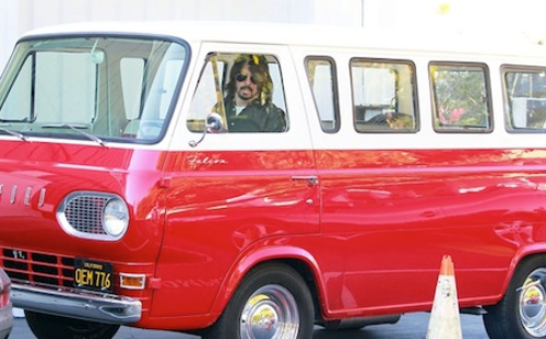 Dave Grohl Ford Falcon Van