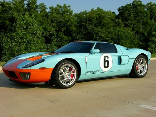 John Mayer Ford GT