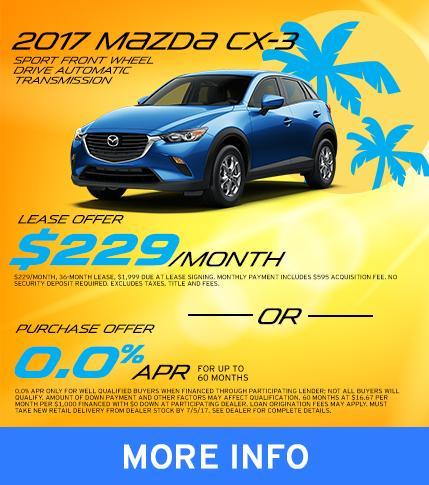 2017 Mazda CX-3 Special