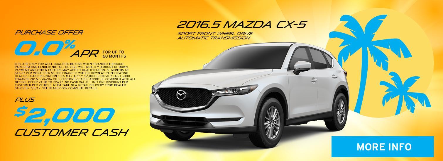 2016.5 Mazda CX-5 Special