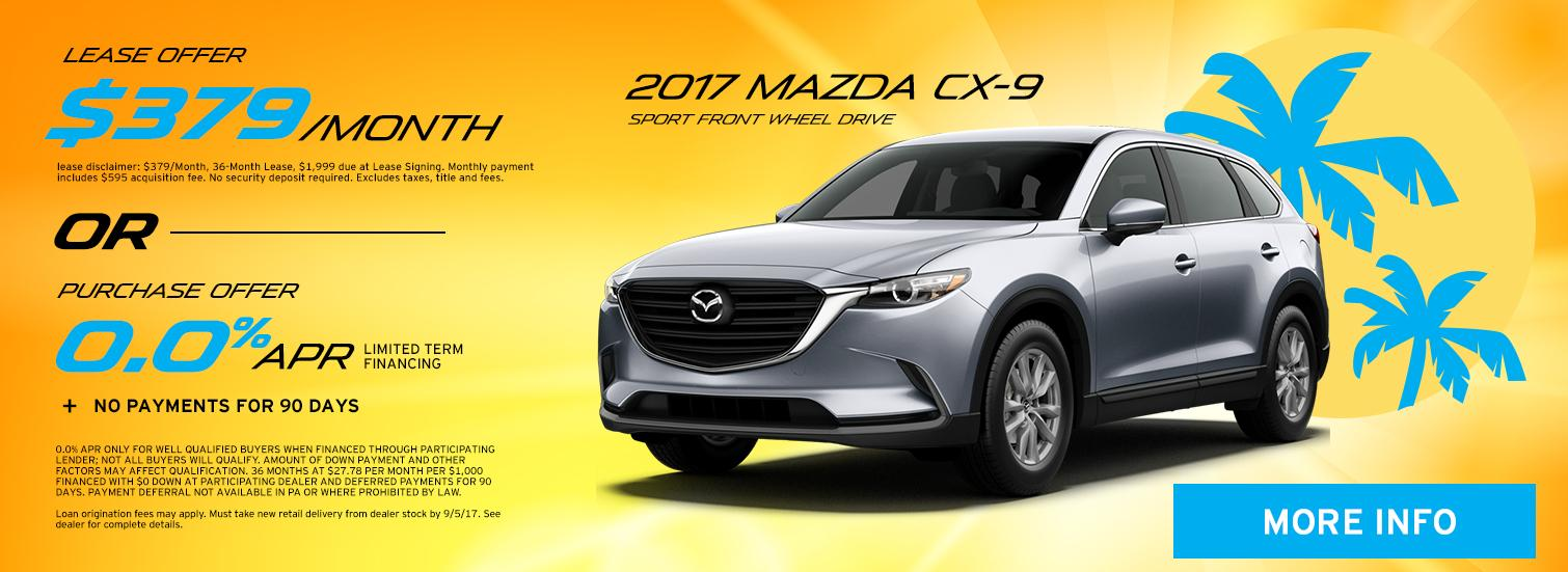 Mazda CX-9 Special