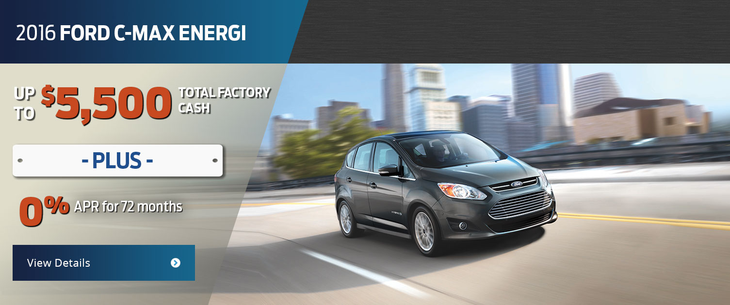 2016 Ford C-Max Energi Purchase Offer