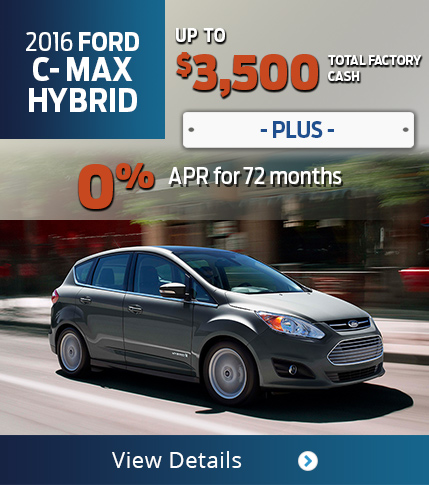 2016 Ford C-Max Hybrid Purchase Offer