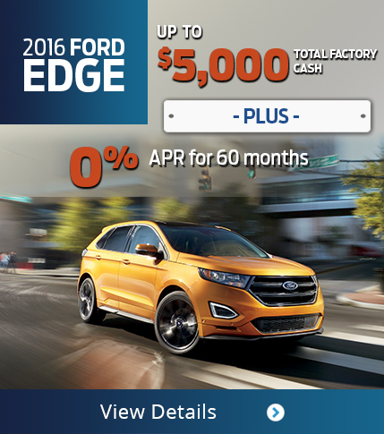 2016 Ford Edge Purchase Offer