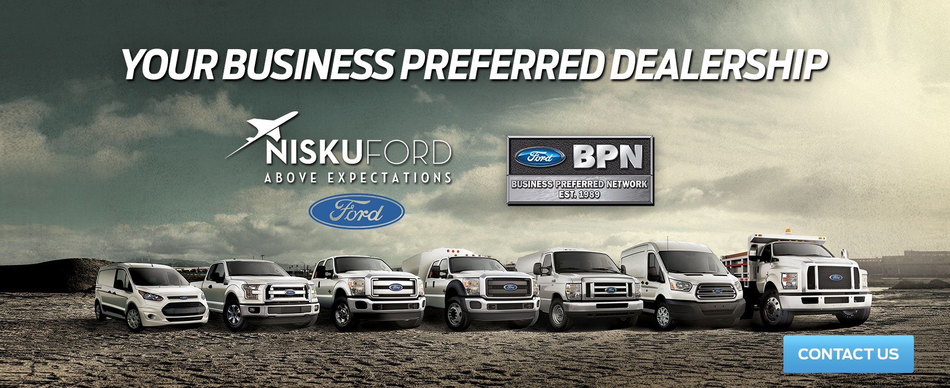 COMMERCIAL FORD DEALERSHIP