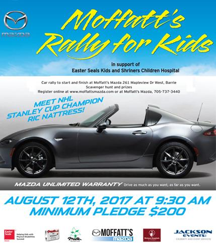 Moffatt's Rally for Kids