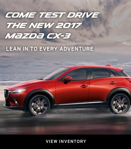 Moffatt's Mazda - 2017 CX-3