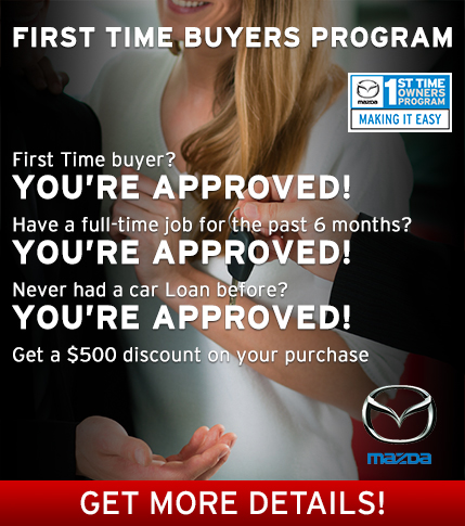 Moffatt's Mazda - First Time Buyers
