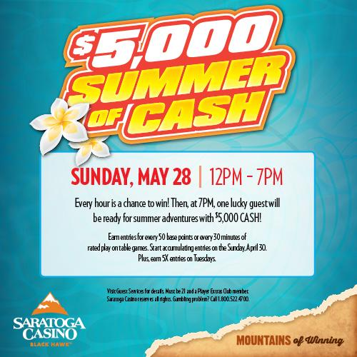 $5,000 Summer of Cash