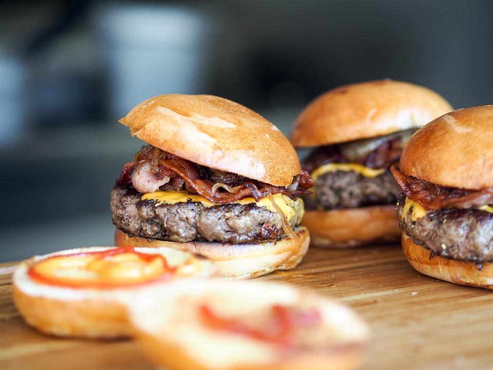Burger on Brioche Bun