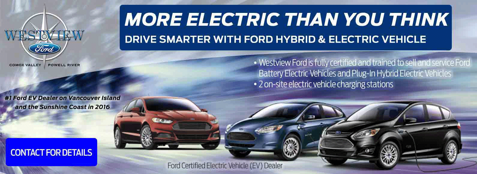 Electric Vehicles and Hybrid Vehicles at Westview Ford