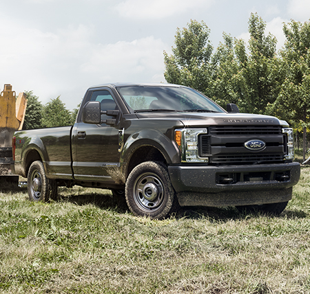 Ford Super duty front
