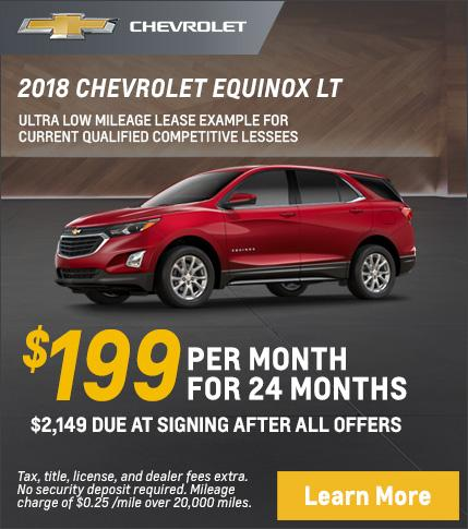 Equinox Lease Offer