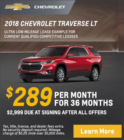 Traverse Lease Offer