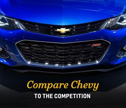 Compare Chevy to the Competition
