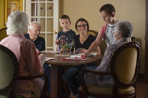 When the grandkids come to visit