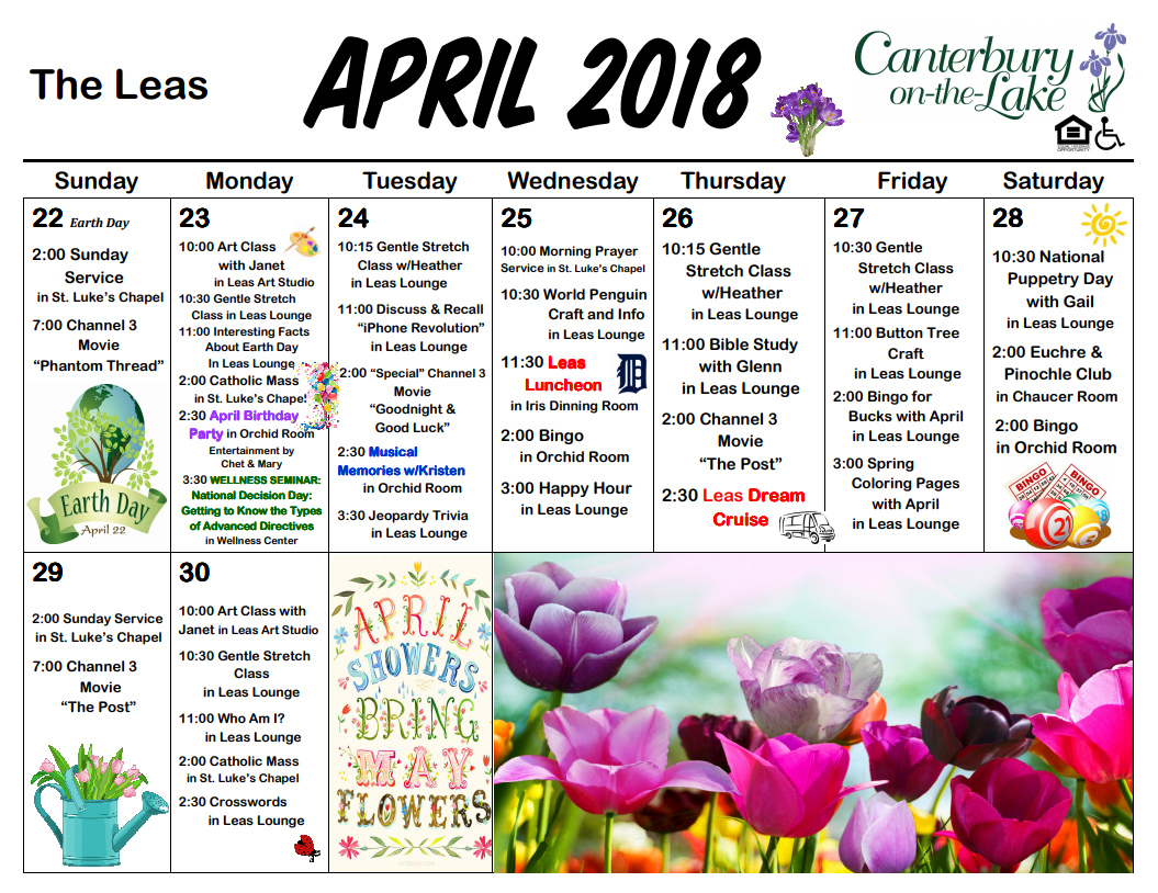 Leas Calendar