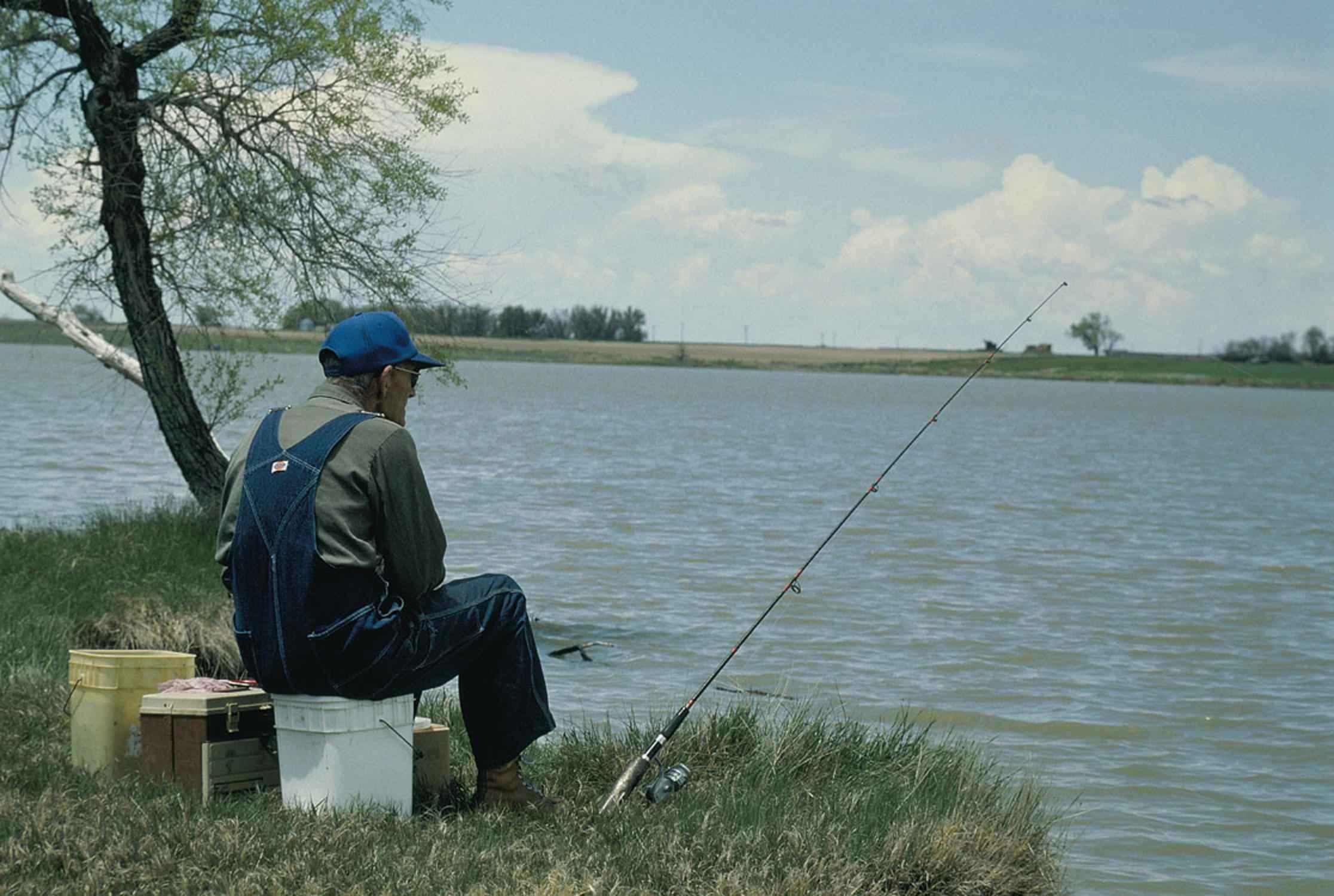 Senior Citizens Fishing