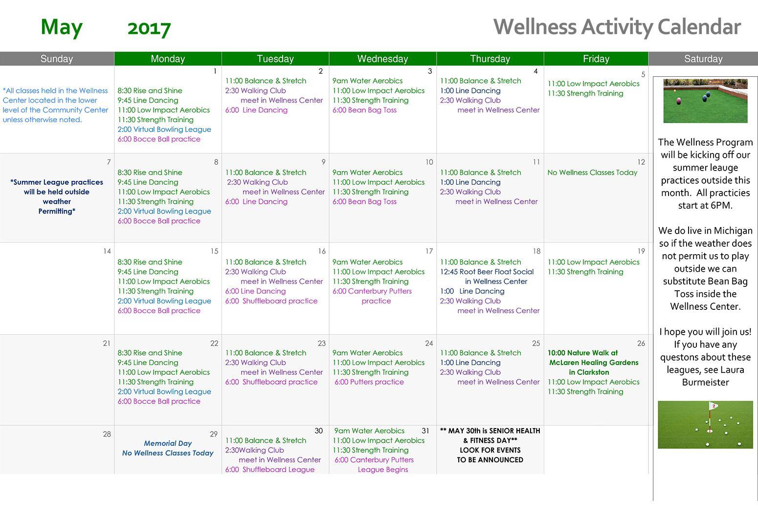 May Wellness