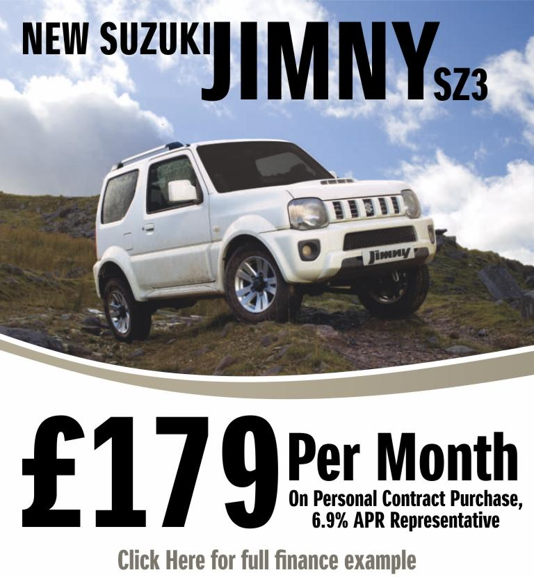 Suzuki Jimny £179 Per Month