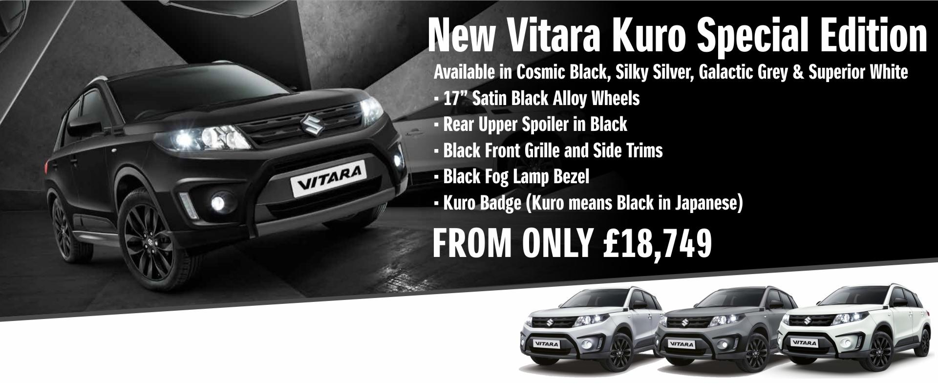 Suzuki Vitara Kuro Special Edition