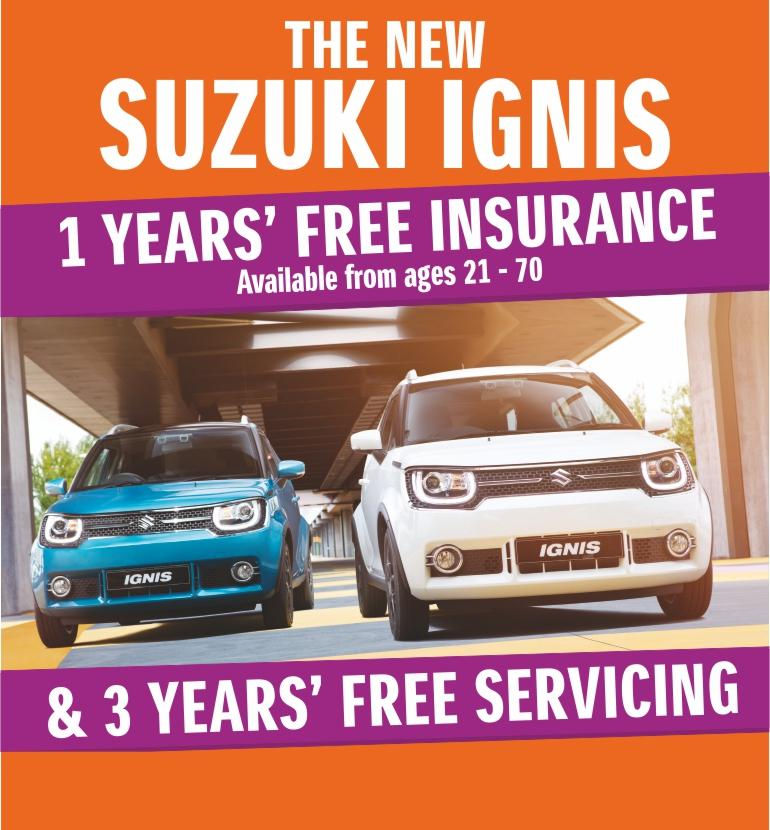 Ignis Free Insurance & Free Servicing