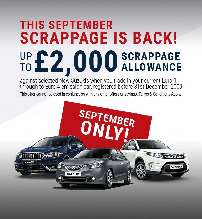 September Scrappage