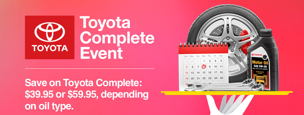 Toyota Complete Service Event