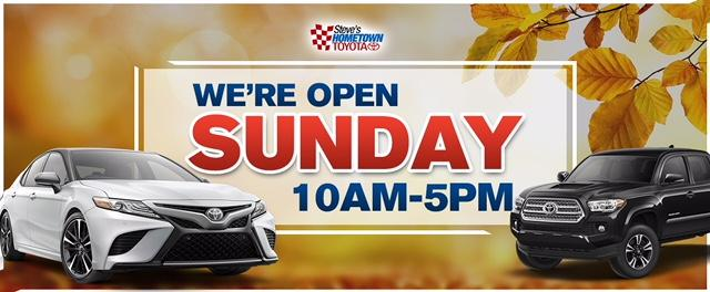 Hometown Toyota Open Sunday