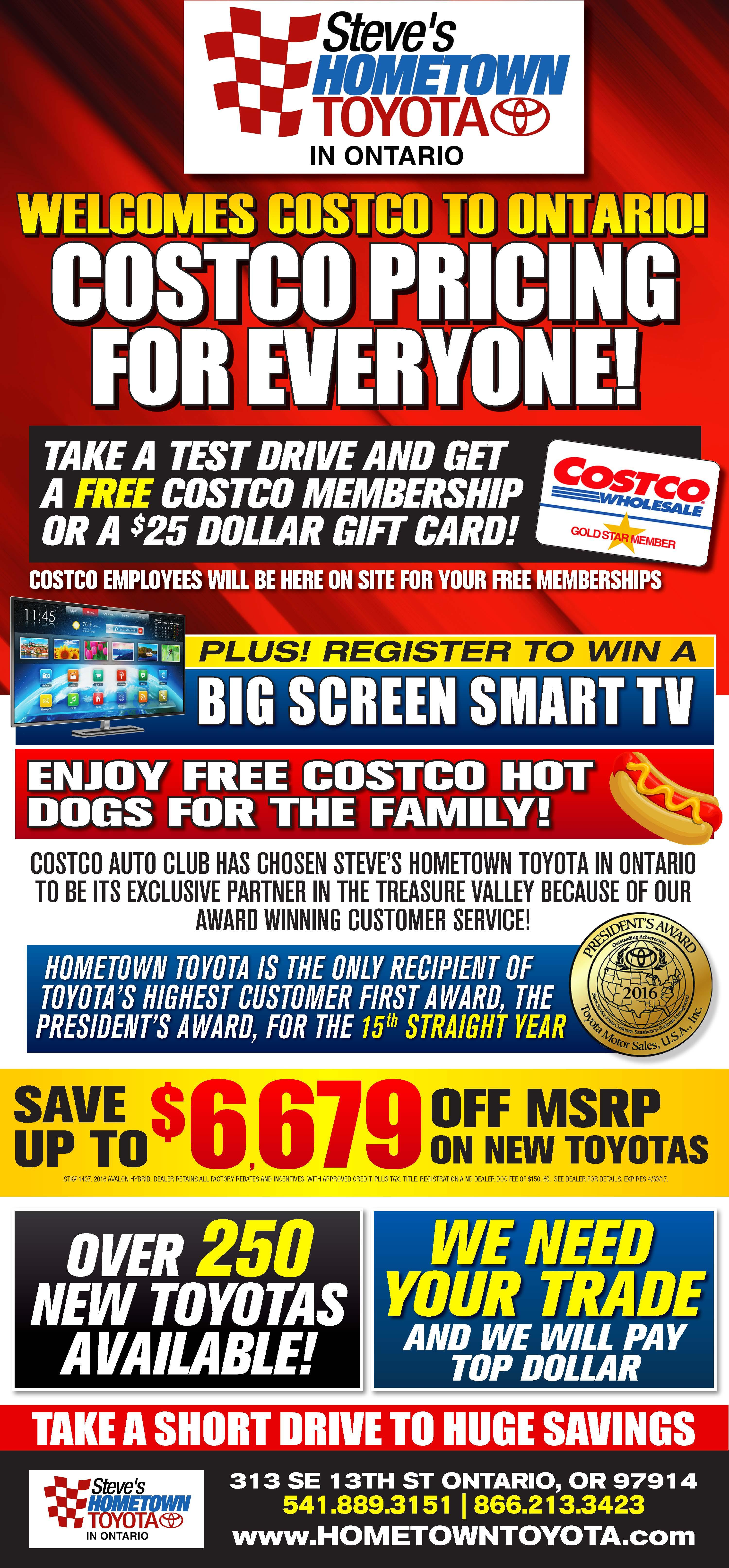 Costco Pricing For Everyone