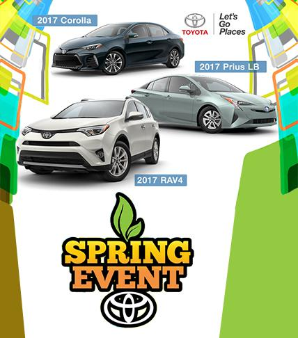 Spring Event - Hometown Toyota