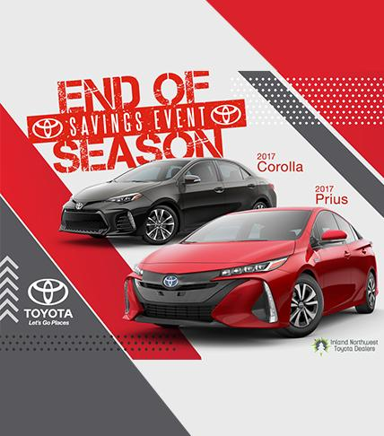 Toyota End of Season Sales Event
