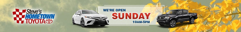 Steve's Hometown Toyota Open Sunday