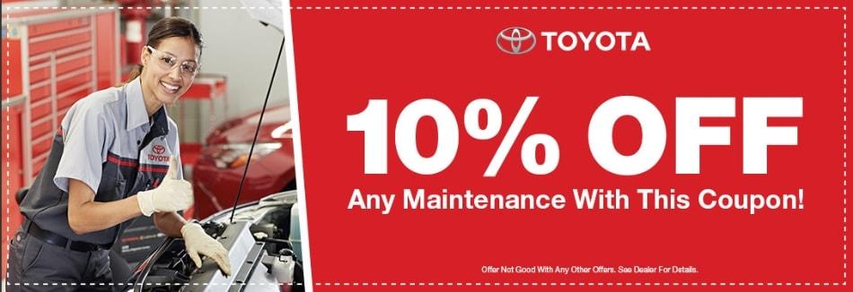 10% OFF Any Maintenance