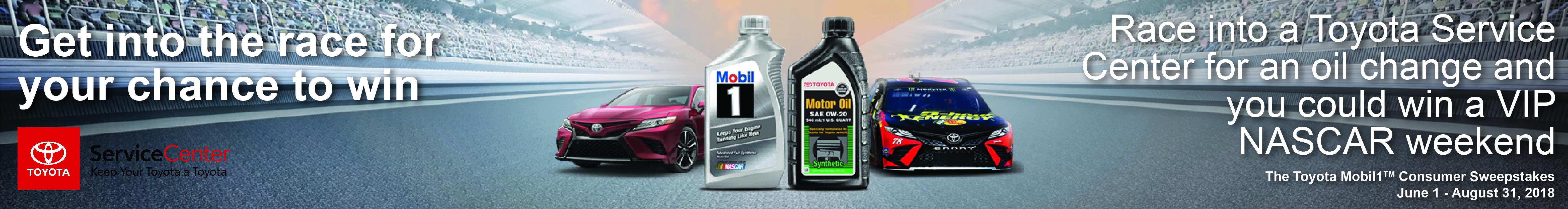 Toyota Exxon/Mobil1 Promotion