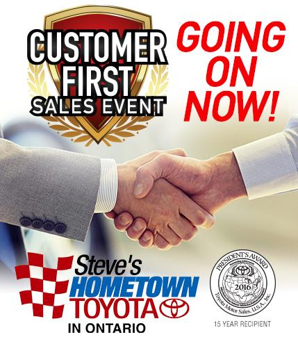Customer First Sales Event