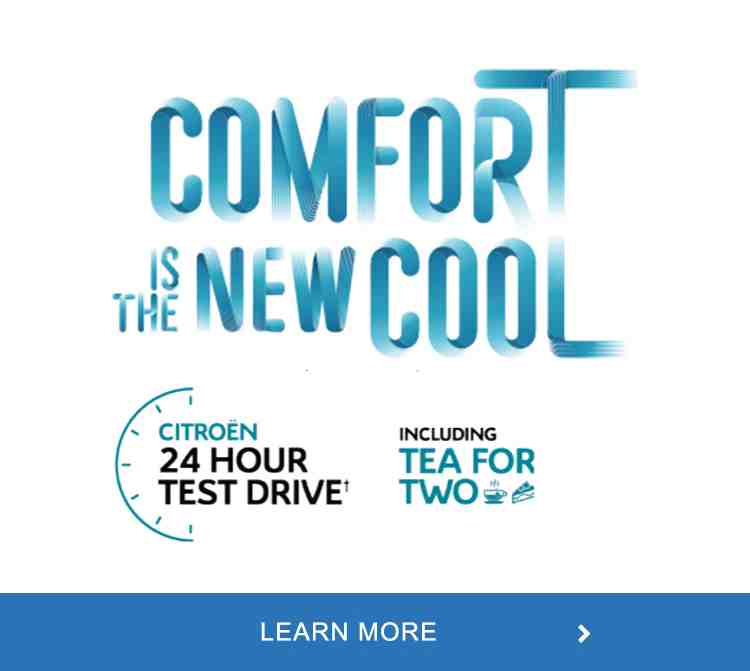 C4 Cactus test drive