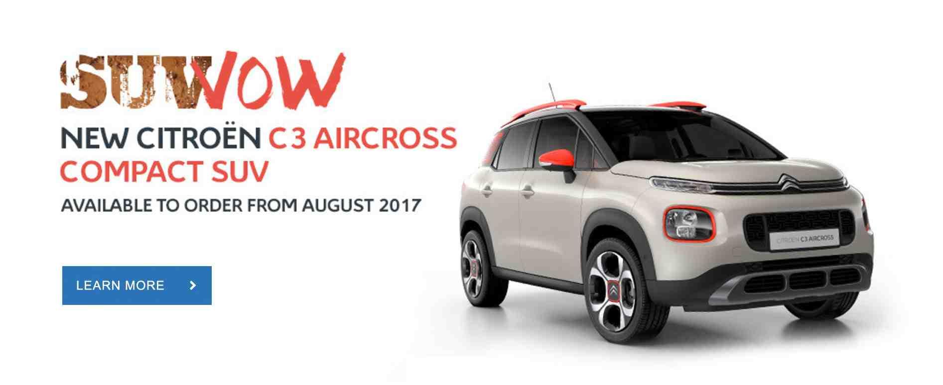 New C3 Aircross