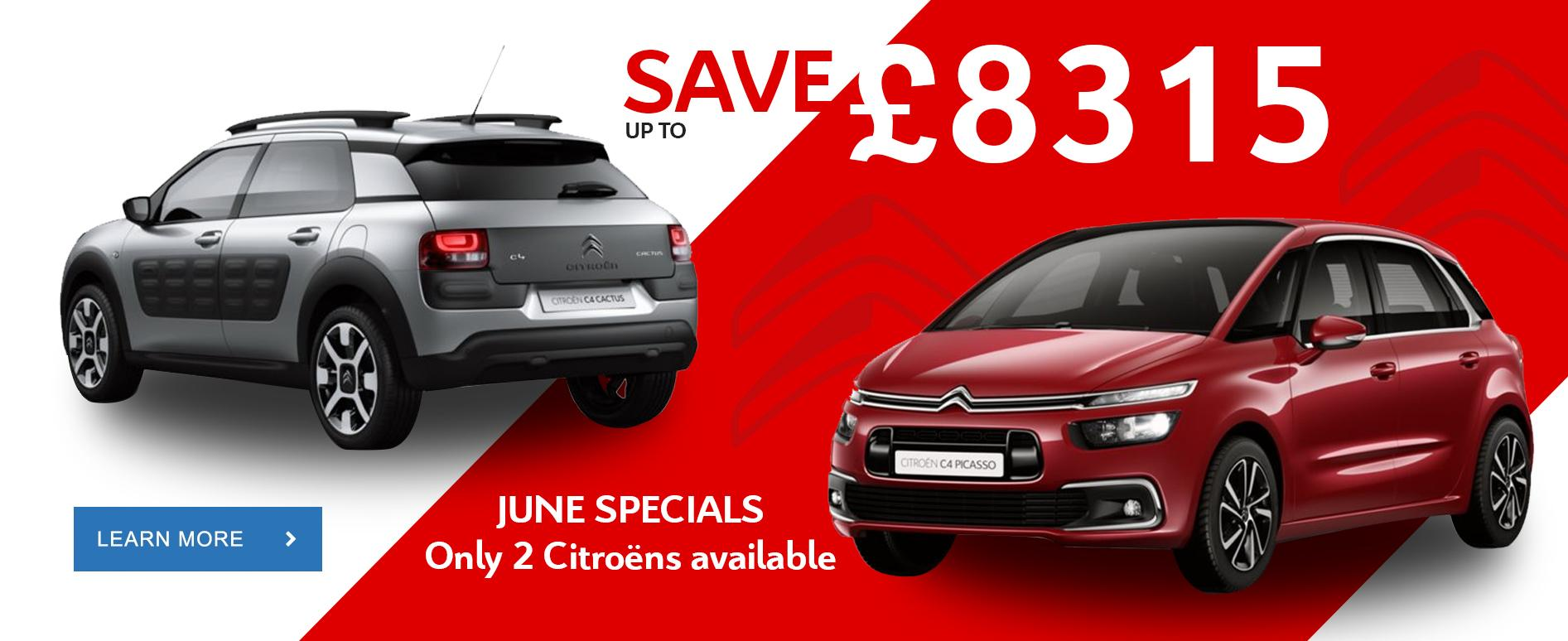Citroen June Specials