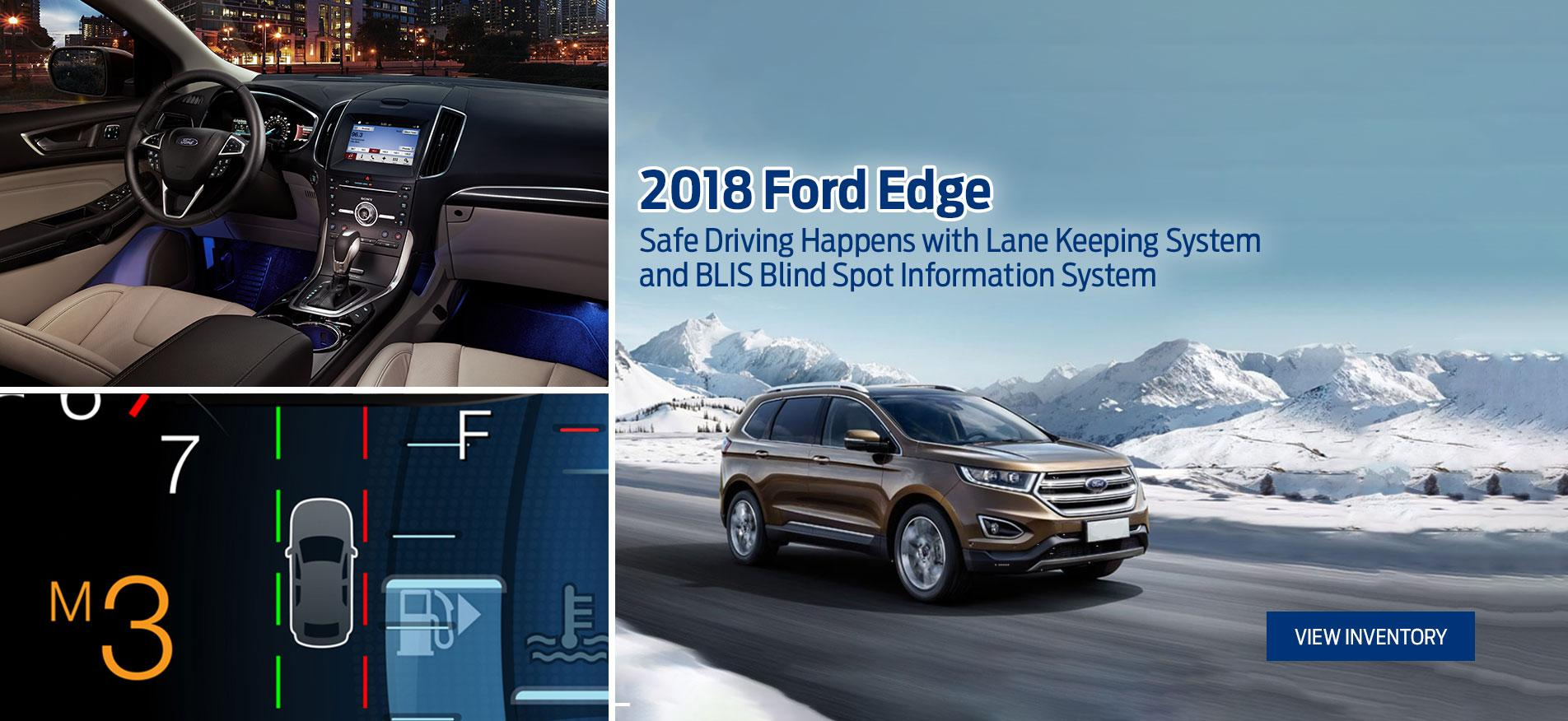 2018 Edge Tisdales Kindersley Ford