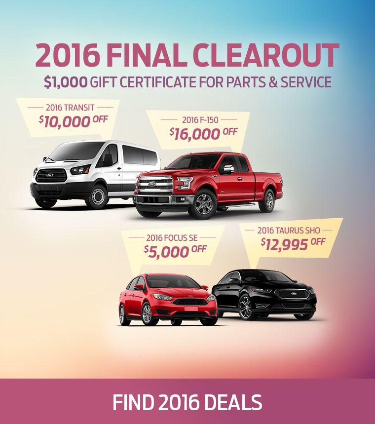 2016 Final Clearout Junction Motors