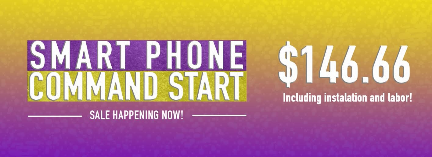 Smart Phone Command Start