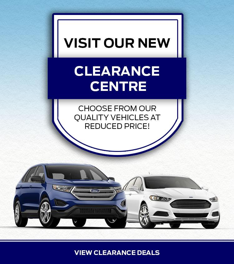 Norris Ford Clearance Centre