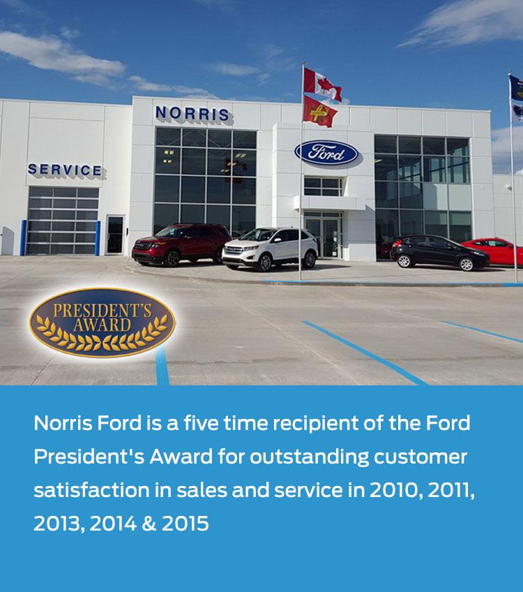 Norris Ford Presidents Award
