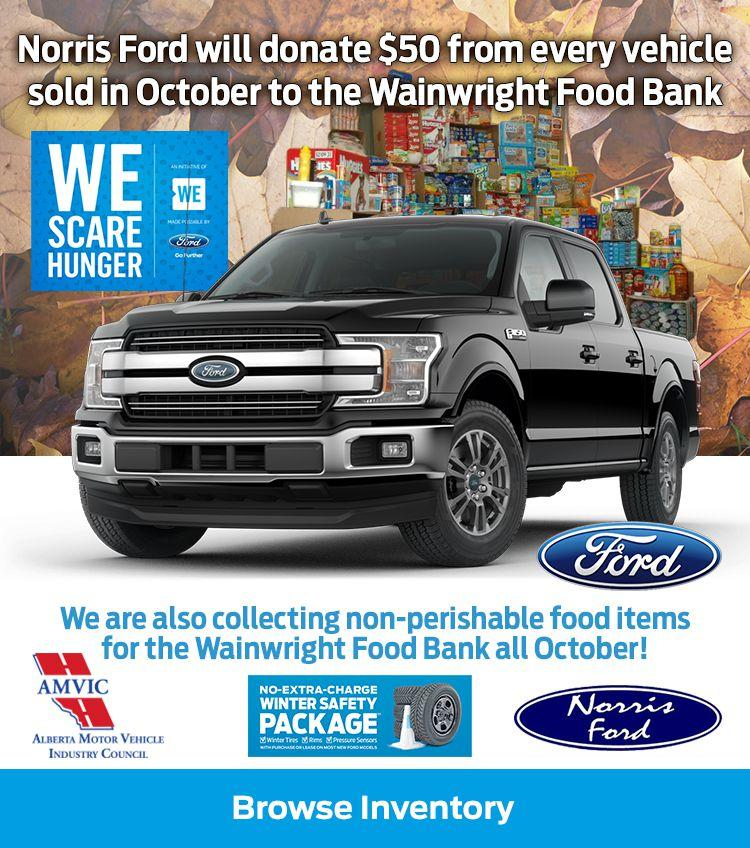 WE Scare Hunger Norris Ford