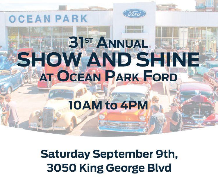 Hot Rod Show Ocean Park Ford