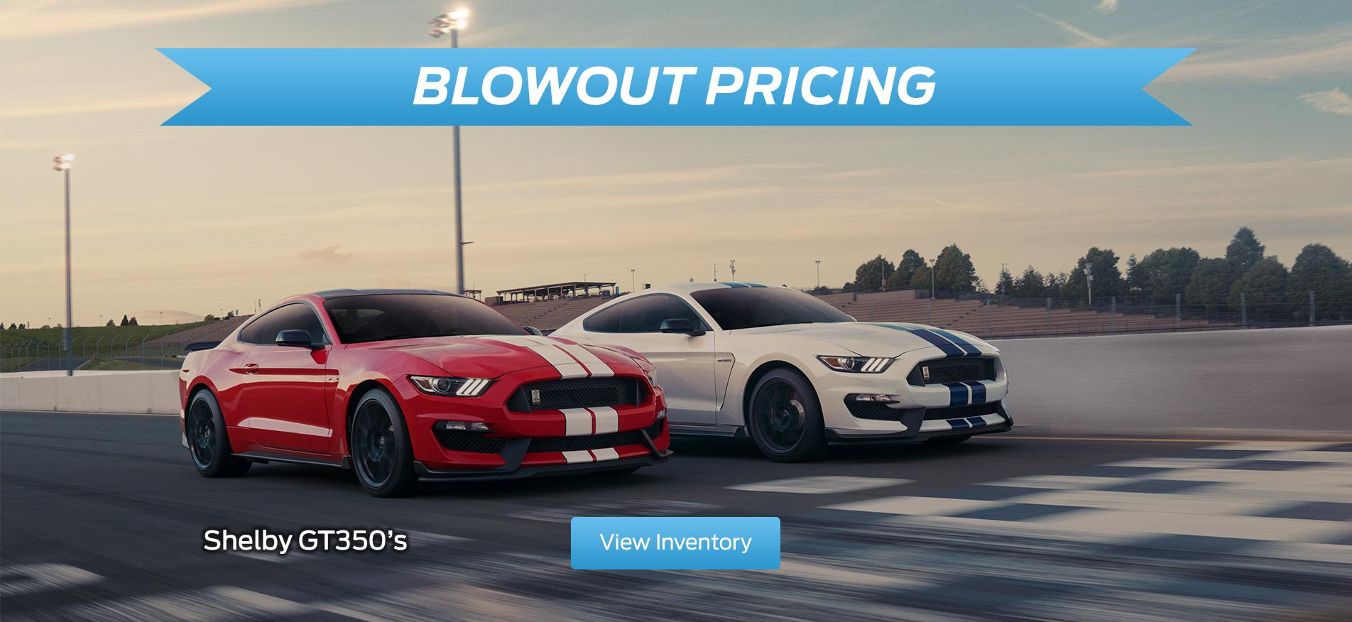 Blowout Pricing