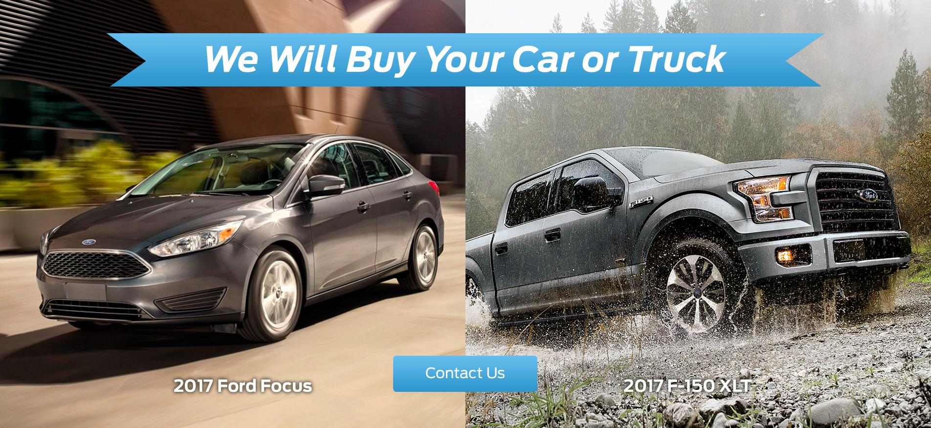 We Buy Your Car or Truck